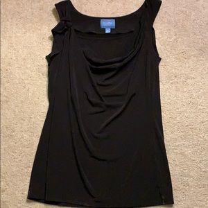 Simply Vera simple black top.
